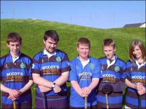 Woodys Express Shinty Lewis
