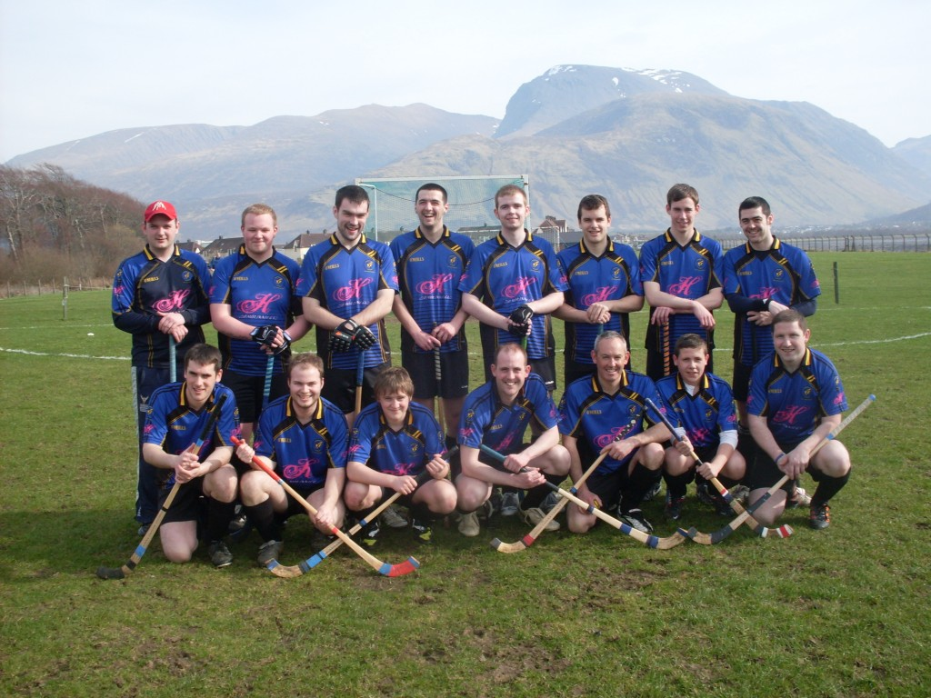 2012 First Game against Kilmallie - Ben Nevis in the background