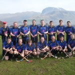 First Game against Kilmallie - Ben Nevis in the background