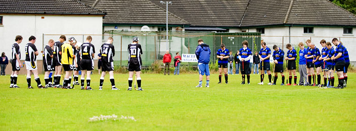 MInute Silence For Craig Morrison July 2009