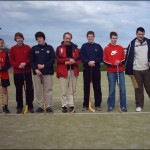 Shinty training Stornoway