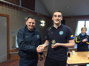 Ally Lamont was awarded the inaugural Captain's Player of the Year Award